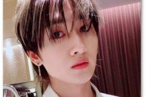 ウニョク スーパージュニア 髪型 メイク 腹筋